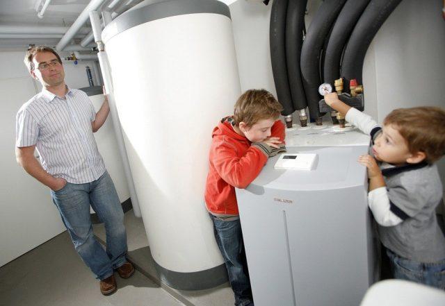 Lägre energiförbrukning med värmepumpar