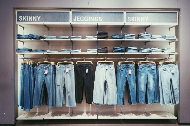 Jeans fortsätter att vara modernt